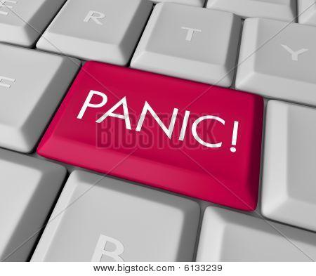 Panic Button On Computer Keyboard
