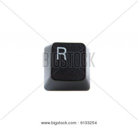 Keyboard Letter R