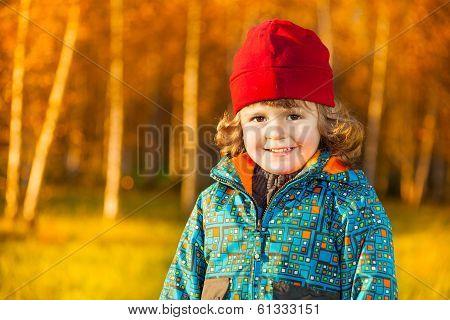 Smiling Boy Close Portrait