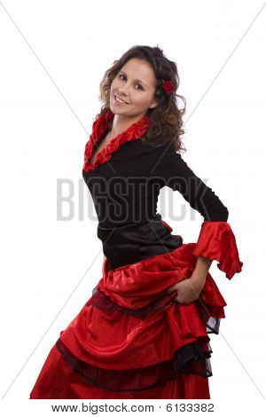 Halloween Spanish Costumes Woman.