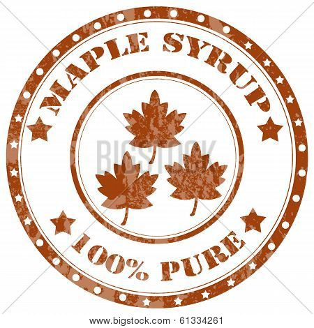 Maple Syrup-stamp