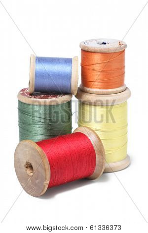 thread on spool