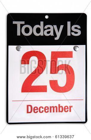 December 25 Christmas Day