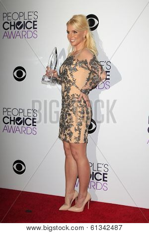 LOS ANGELES - JAN 8: Britney Spears at The People's Choice Awards at the Nokia Theater L.A. Live on January 8, 2014 in Los Angeles, California