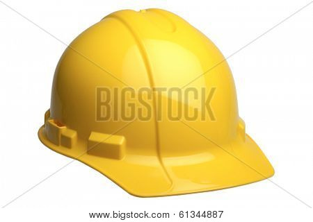 yellow construction cap