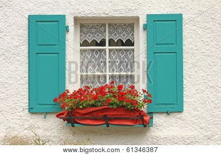 Decorative Wooden Window