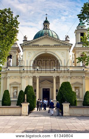 Wilanow, St. Anne's Church, Warsaw