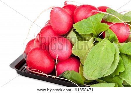 Pile Of Raw Garden Radish