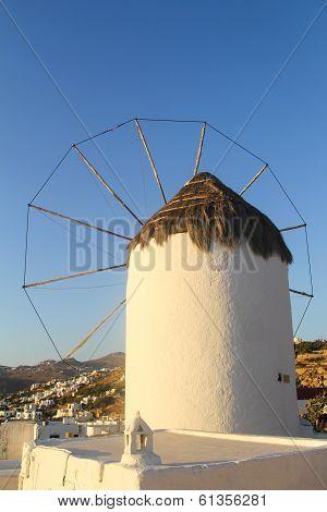 Windmill in Mykonos, Greece