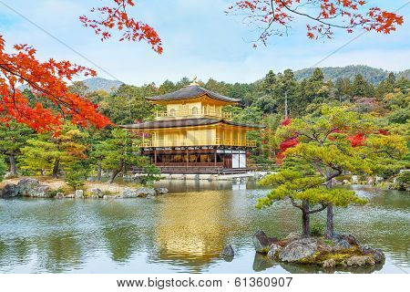 Kinkaku-ji - The Golden Pavilion Temple in Kyoto