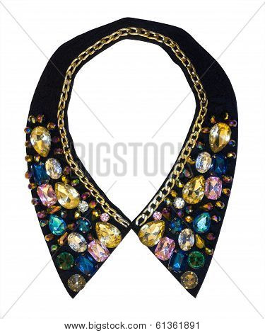 Decorative Collar Decorated With Fashion Jewelry