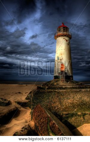 The Talacre Lighthouse