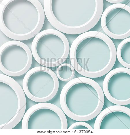 White circles background1