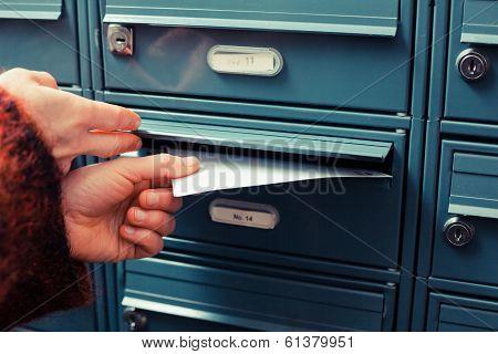 Delivering Letter