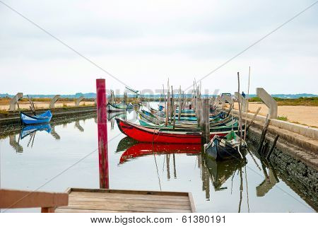 Boats In Water Canal