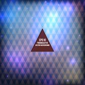 Triangle pattern background. Modern brochure Design
