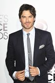 LOS ANGELES - JAN 8: Ian Somerhalder at The People's Choice Awards at the Nokia Theater L.A. Live on
