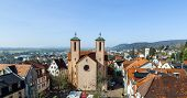 picture of 24th  - famous sankt peter church in Gelnhausen on a sunny day - JPG