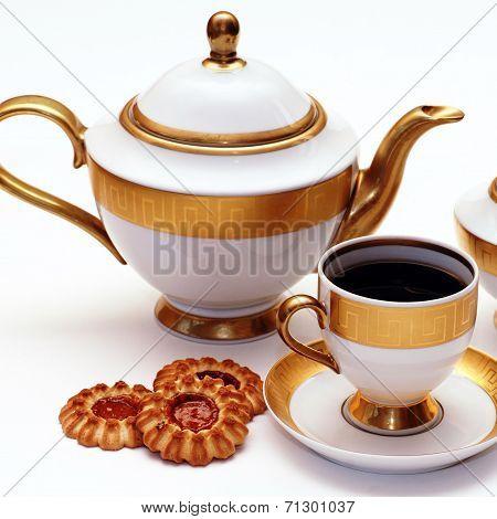Elegant Tea Service
