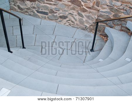 Architecture_curvy stairs