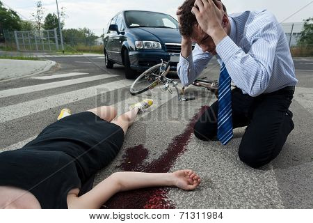 Driver Killed Female Cyclist