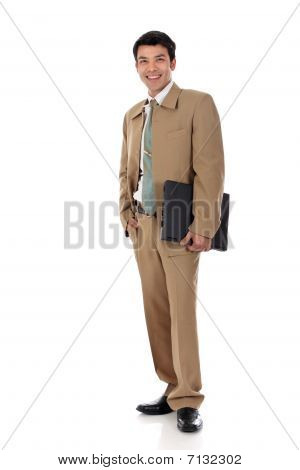Asian Happy Businessman