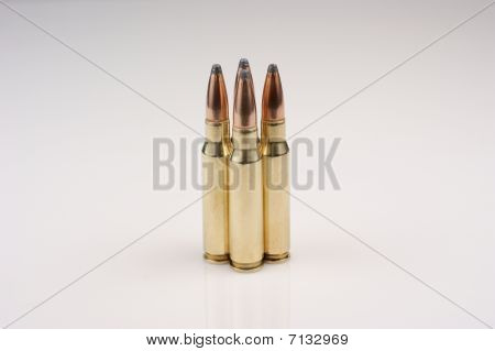 .308 caliber high power rifle ammunition