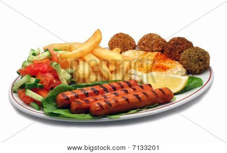 Hot dog plate