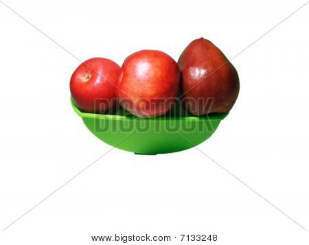Red Apple Pear