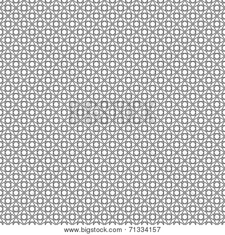 Seamless Wired Fence. Vector Background Texture