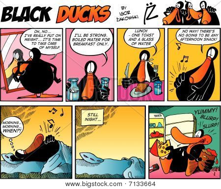 Black Ducks Comic Strip episode 7