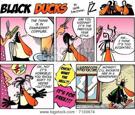 Black Ducks Comic Strip episode 9