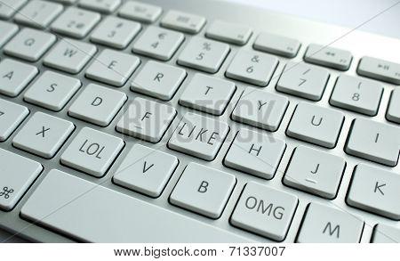Aluminum keyboard
