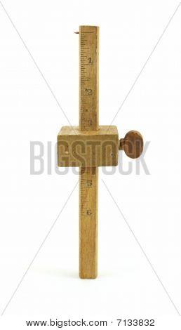 Herramienta de madera trazado antiguo