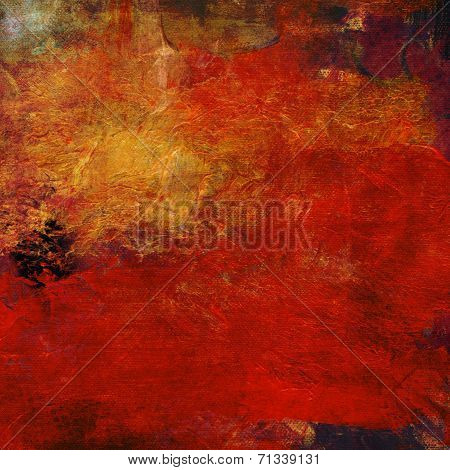 Abstract Impasto Oil Paints