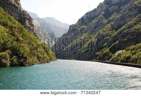 River Neretva Near Jablanica