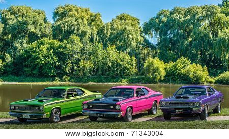 1972 Duster, 1971 Duster, 1972 Demon