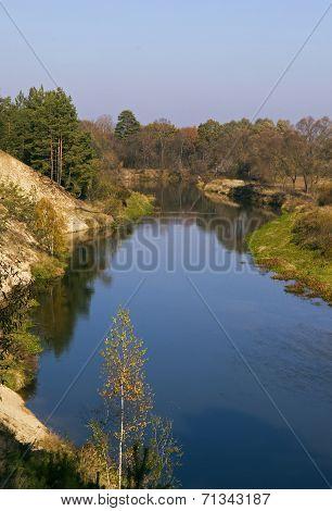 Picturesque Autumn Landscape