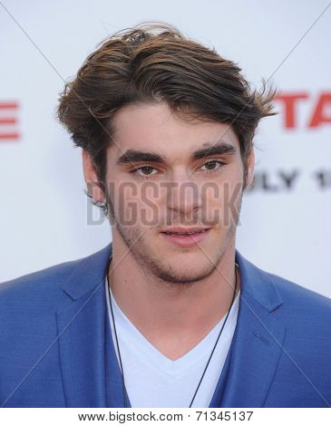 LOS ANGELES - JUL 10:  RJ Mitte arrives to the