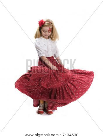 Little Flamenco Dancer
