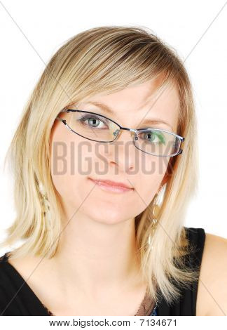 Glasses Woman.