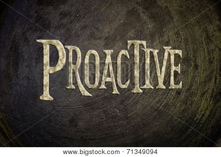 Proactive Concept