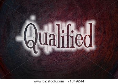 Qualified Concept