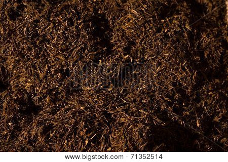 Fine Cut Tobacco Background
