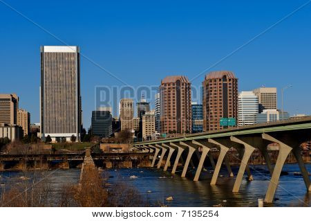 Richmond Virginia cityscape