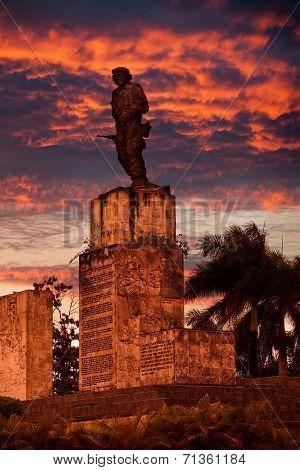 Cuba. Santa Clara. Monument Che Guevara .