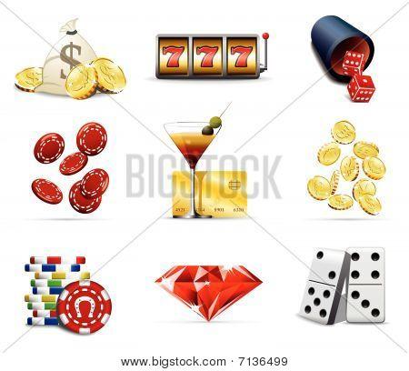 Casino and gambling icons 2