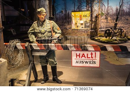Exposure Of Weapons And Equipment In The Belarusian Museum Of The Great Patriotic War. Minsk, Belaru