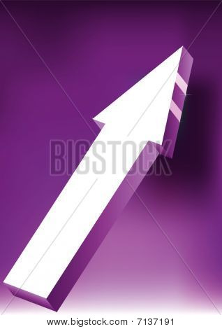 Arrow On Violet