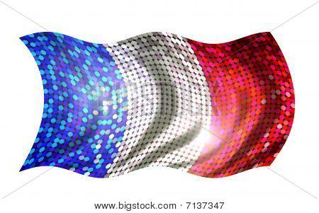 Sparkling Flag Of France